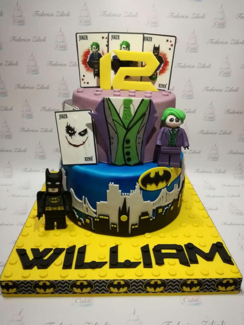 Torta Cake Design Batman : torta-cake-design-lego-batman-jocker-movie - Cake Design ...