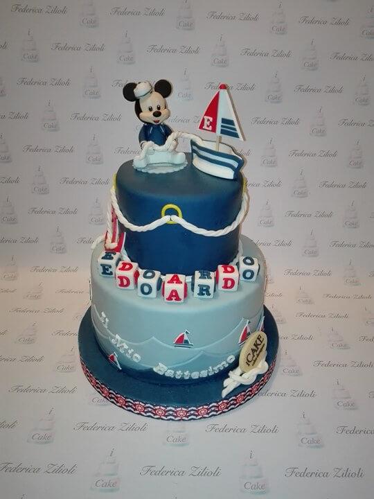 Torta Cake Design Dentista : torta-cake-design-mickey-mouse-battesimo - Cake Design ...
